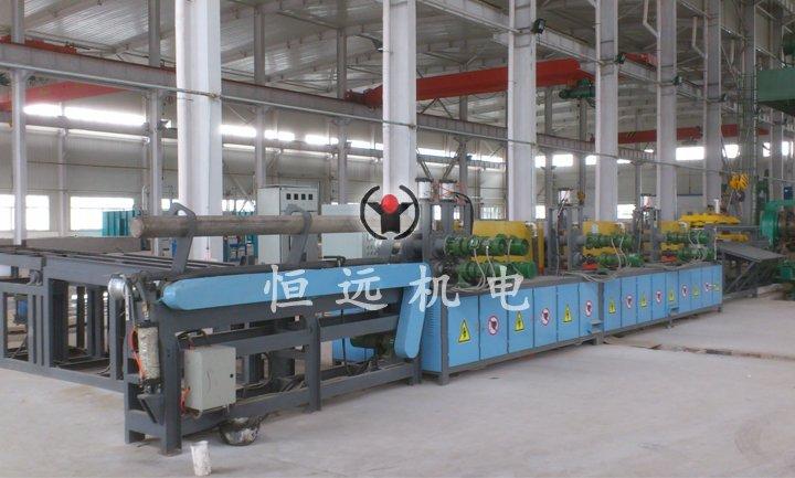 1000KW全自动锻造加热生产设备