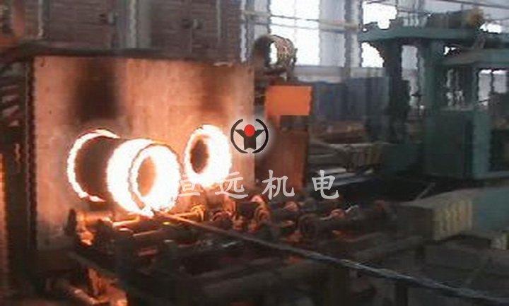 石油机械管壁局部加热-两端同时局部中频加热炉