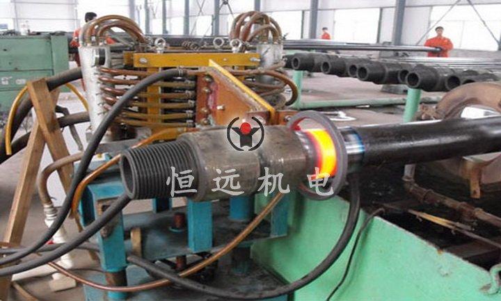 石油钻杆焊缝加热退火设备