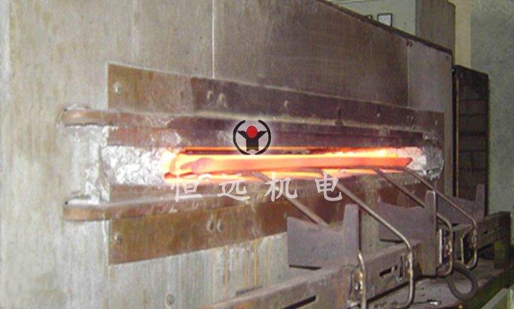 板材局部感应加热成套设备