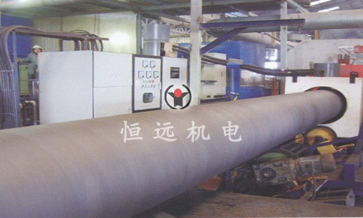 大直径钢管喷涂热处理设备